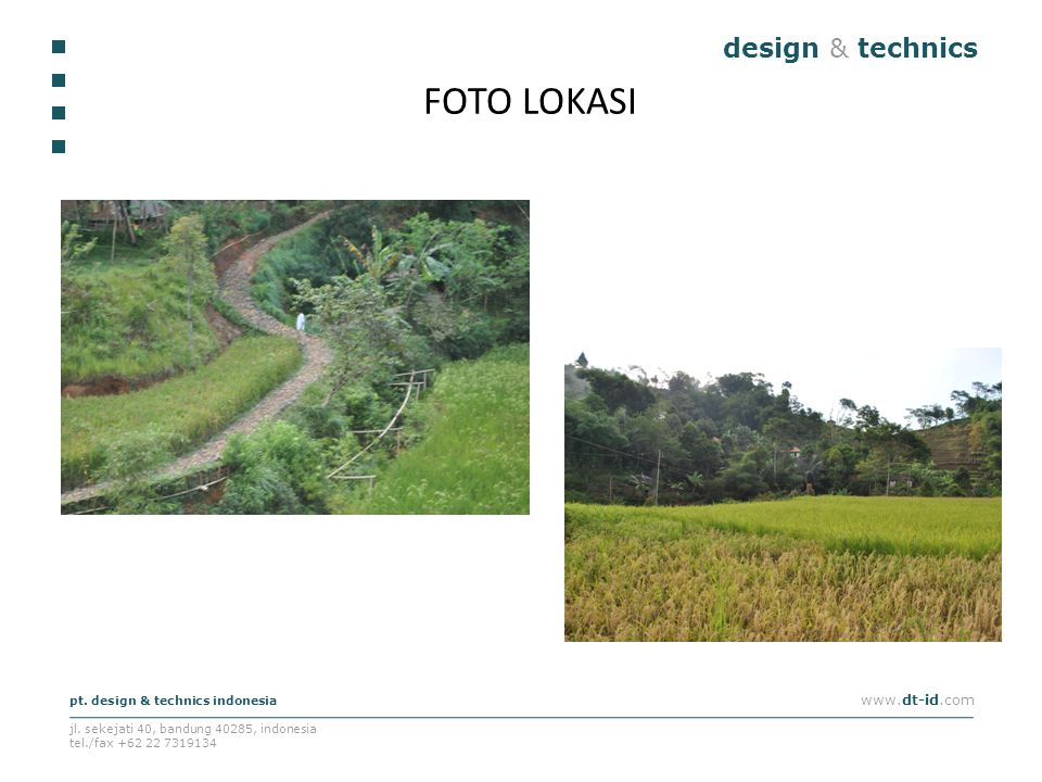 FOTO LOKASI design & technics