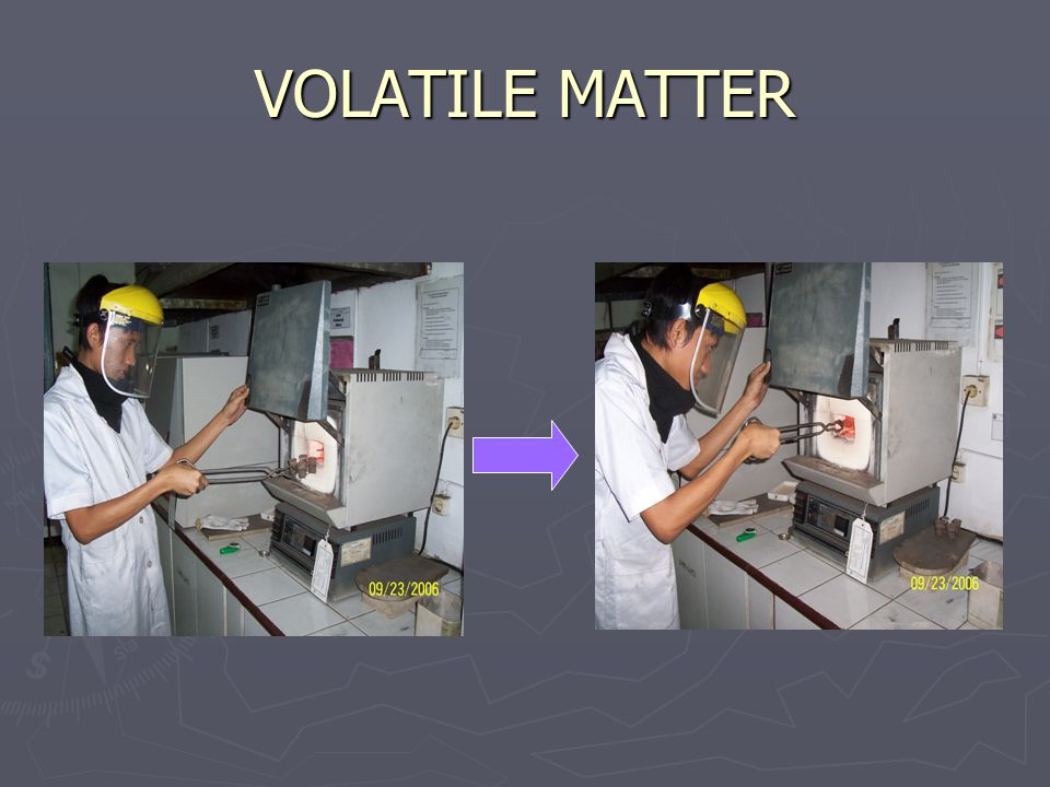 VOLATILE MATTER