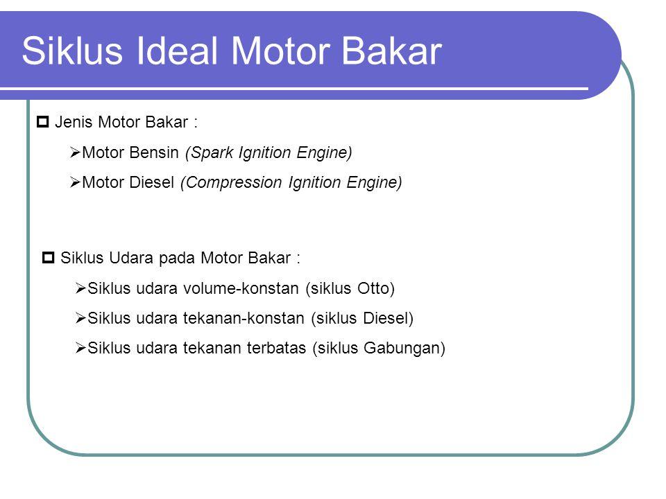Siklus Ideal Motor Bakar