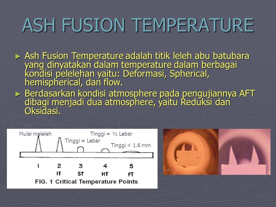 ASH FUSION TEMPERATURE