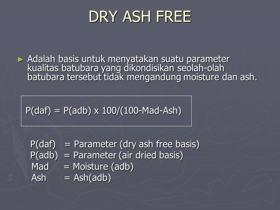 DRY ASH FREE