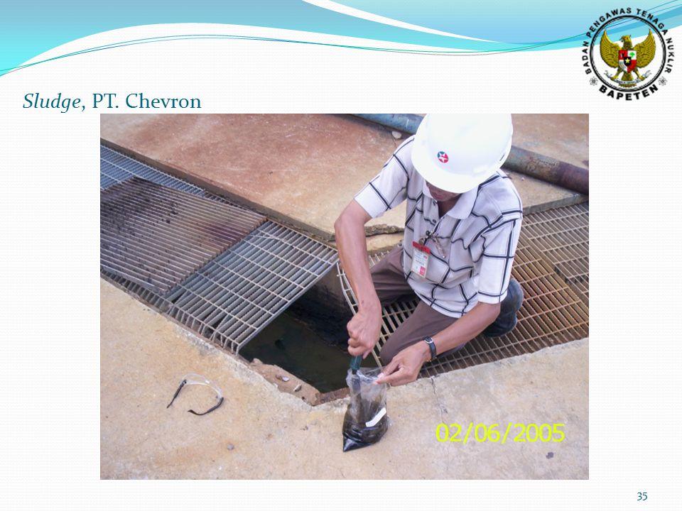 Sludge, PT. Chevron