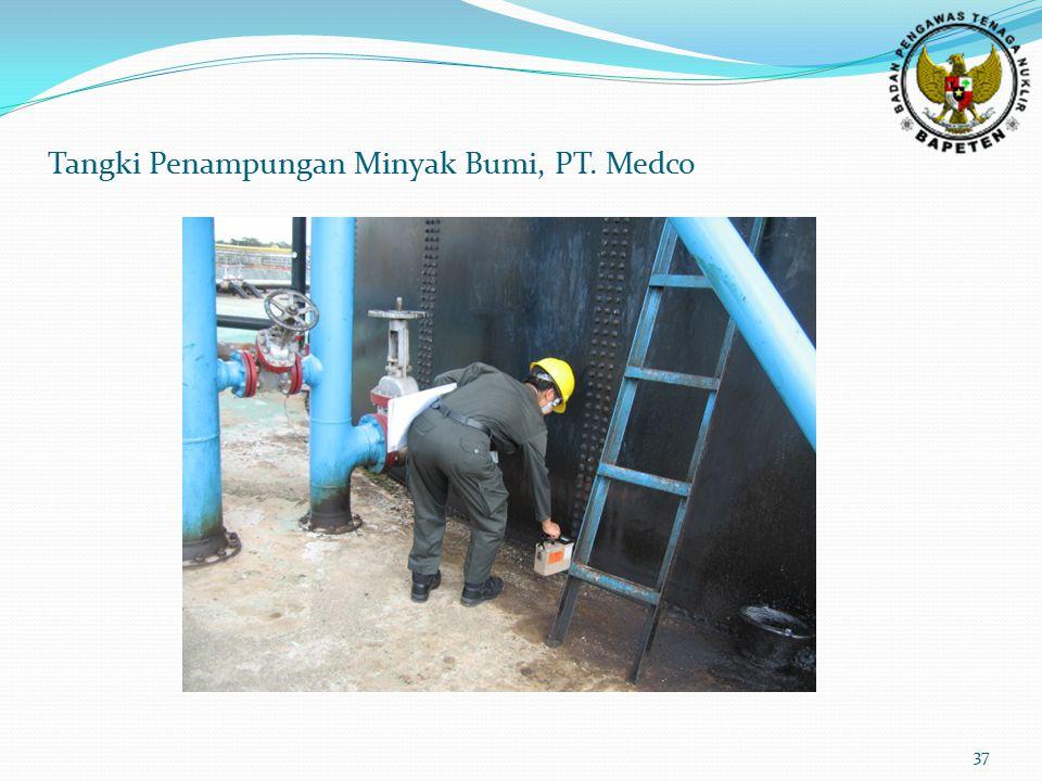 Tangki Penampungan Minyak Bumi, PT. Medco