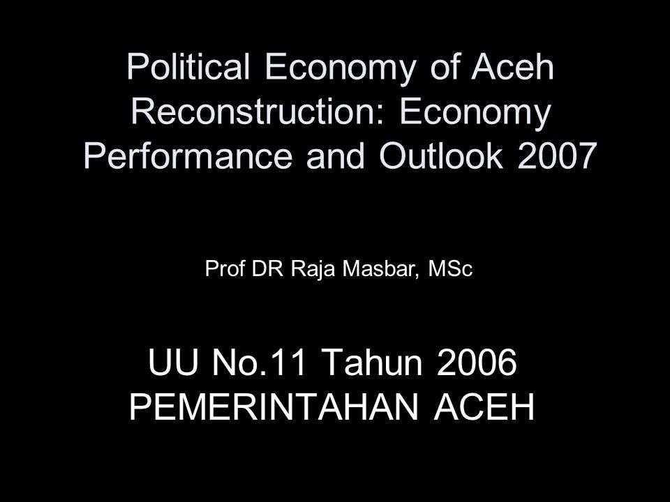 UU No.11 Tahun 2006 PEMERINTAHAN ACEH