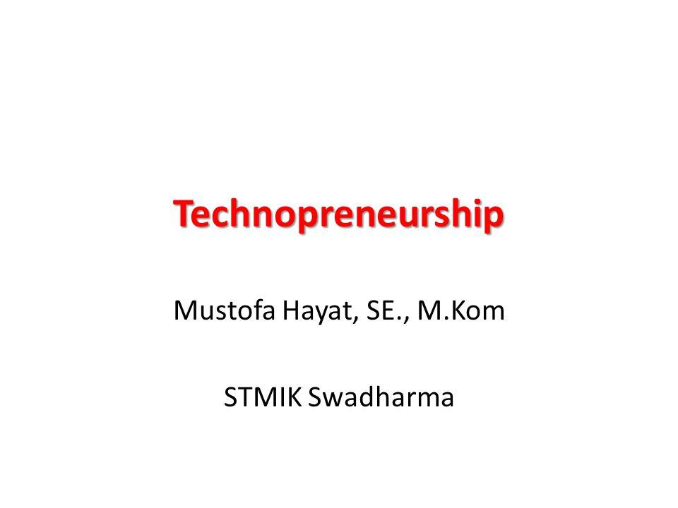 Mustofa Hayat, SE., M.Kom STMIK Swadharma
