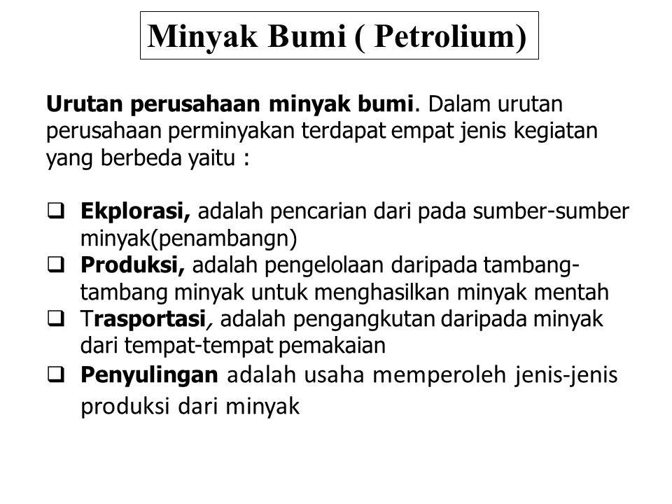 Minyak Bumi ( Petrolium)