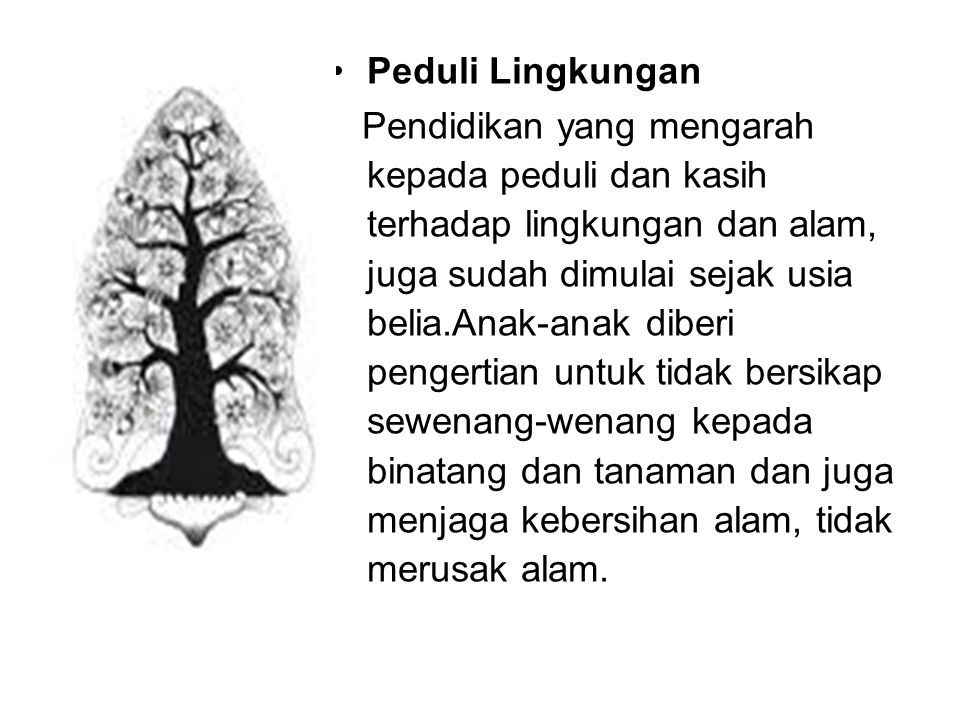 Peduli Lingkungan