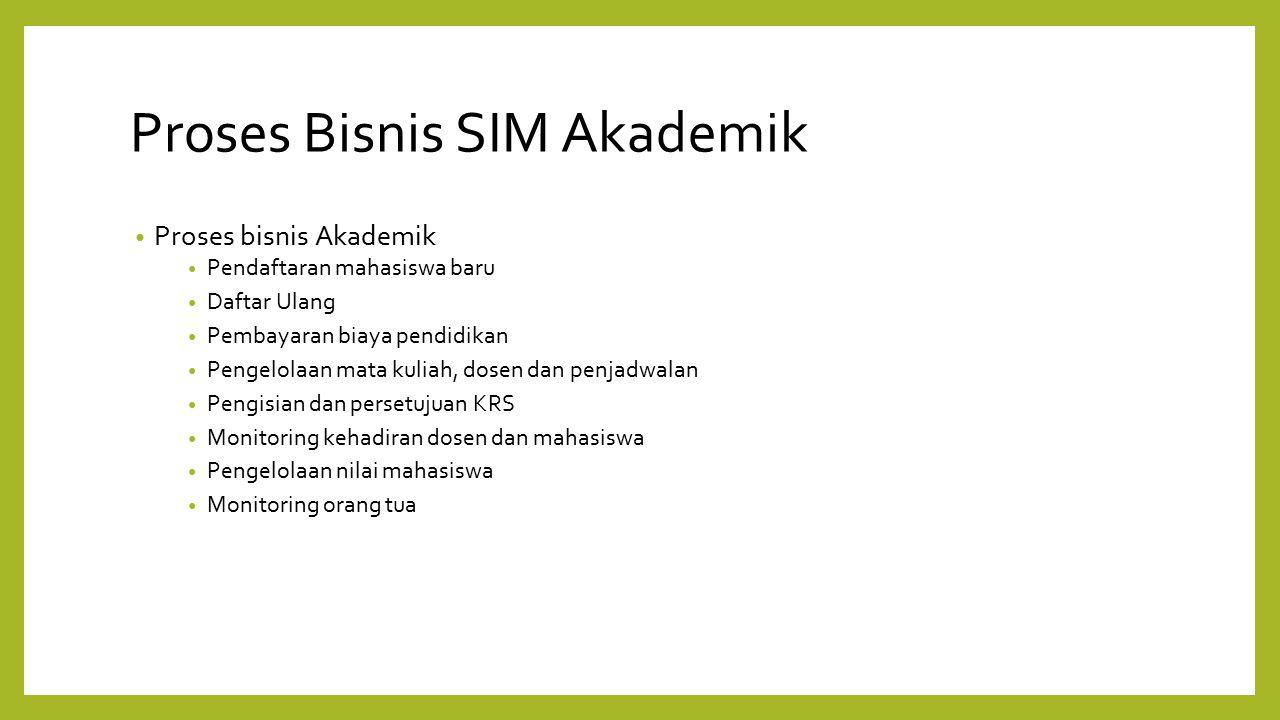 Proses Bisnis SIM Akademik