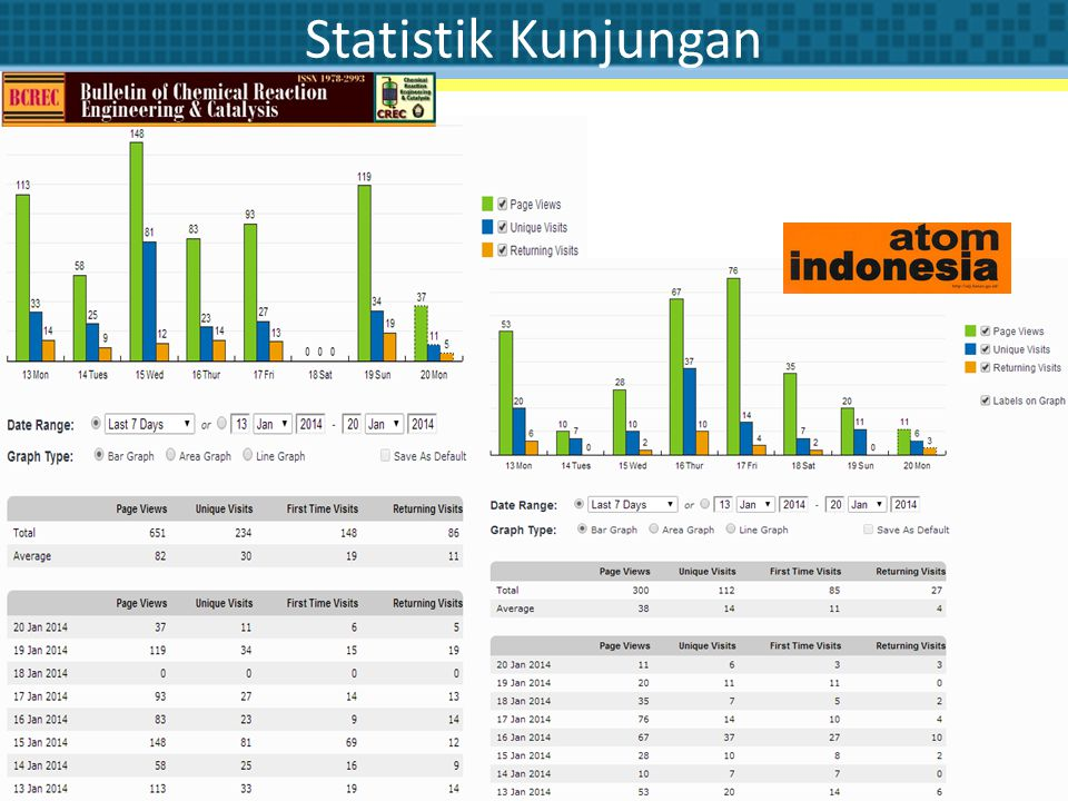 Statistik Kunjungan