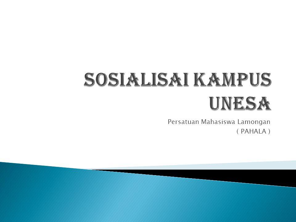 Sosialisai Kampus Unesa