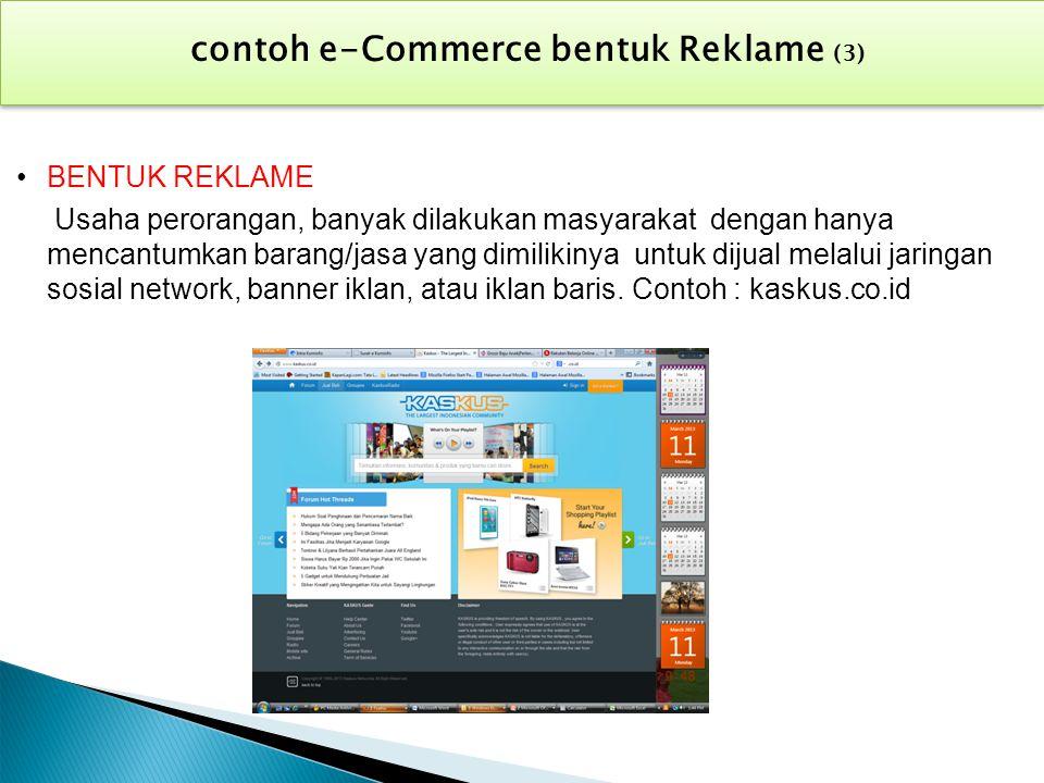 contoh e-Commerce bentuk Reklame (3)