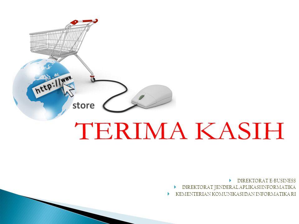 TERIMA KASIH DIREKTORAT E-BUSINESS