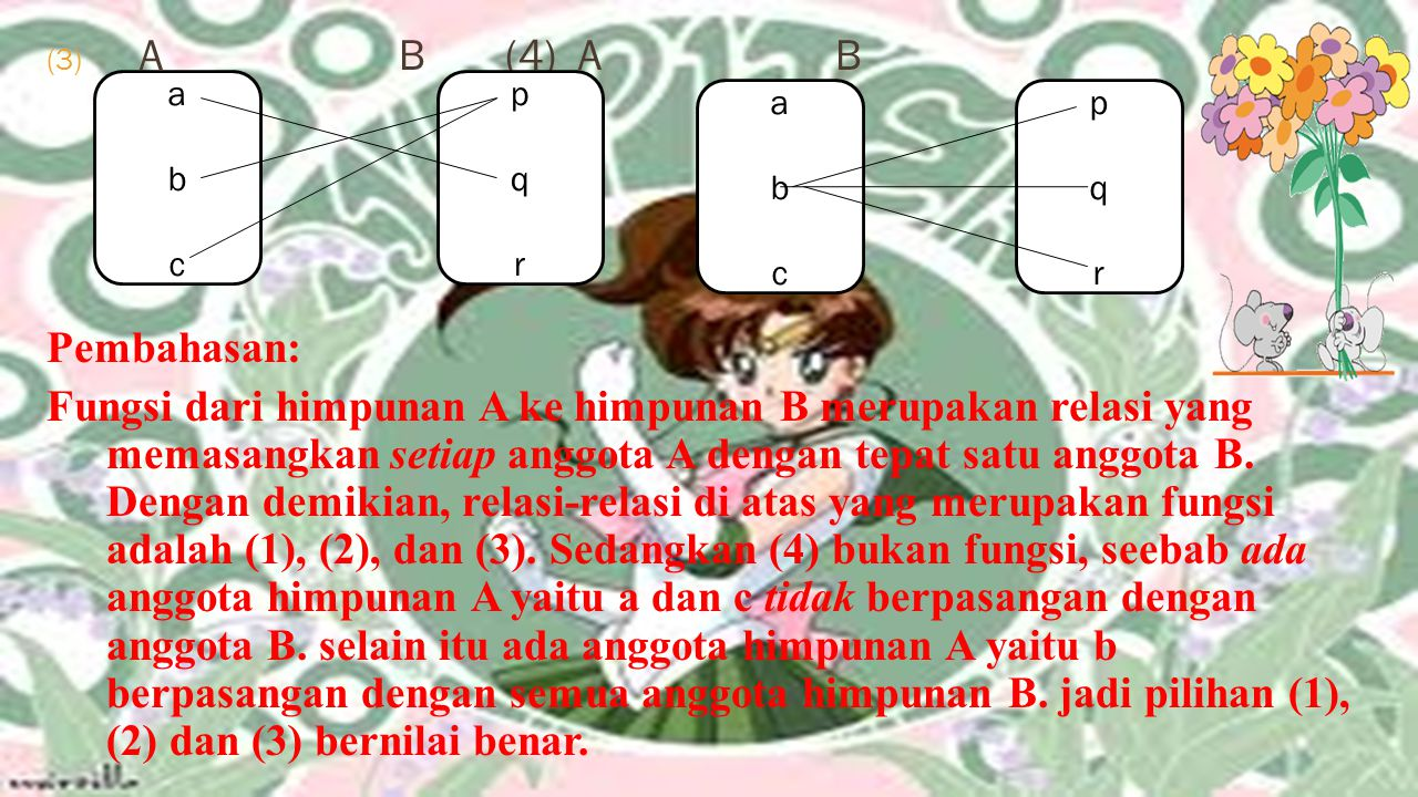 A B (4) A B Pembahasan: