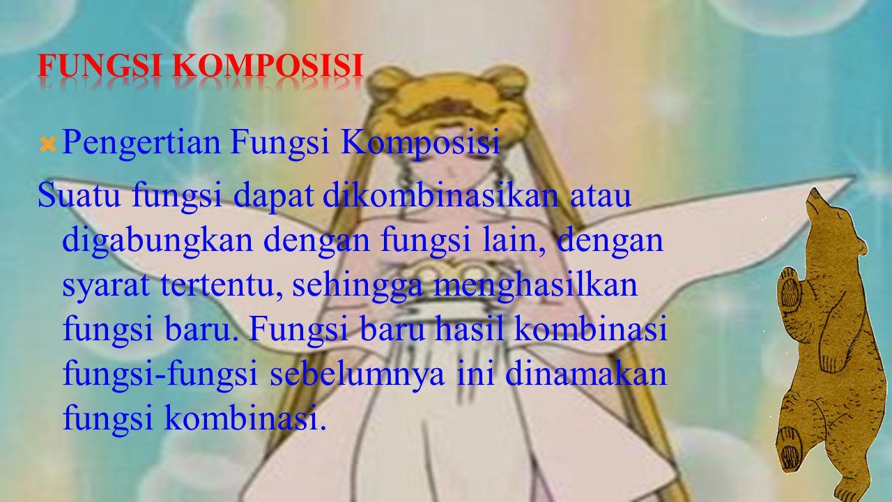 Pengertian Fungsi Komposisi