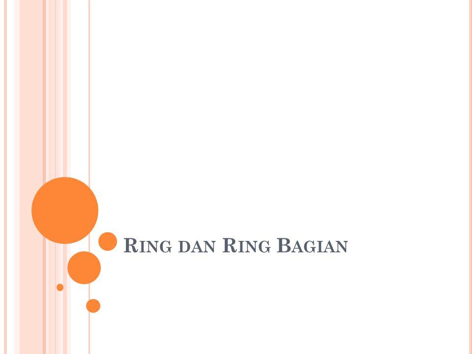 Ring dan Ring Bagian