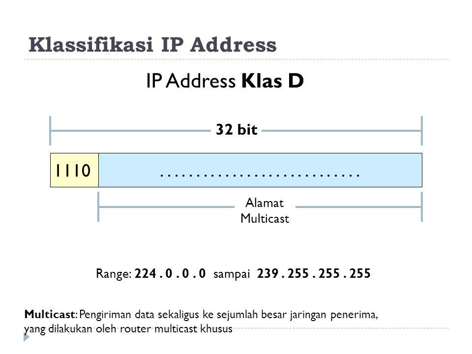 Klassifikasi IP Address