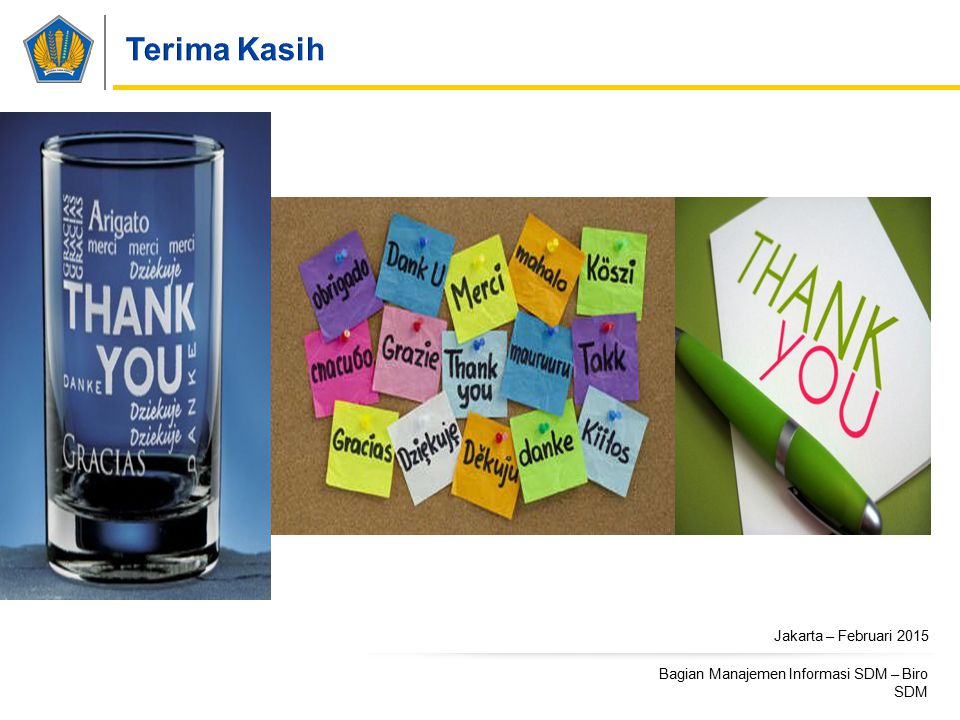 Terima Kasih Jakarta – Februari 2015