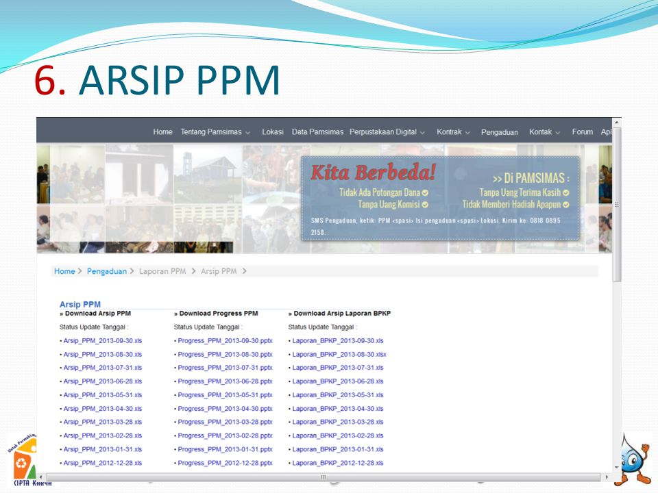 6. ARSIP PPM