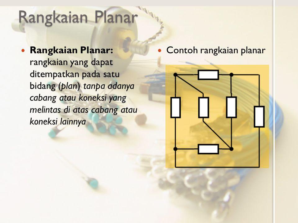 Rangkaian Planar