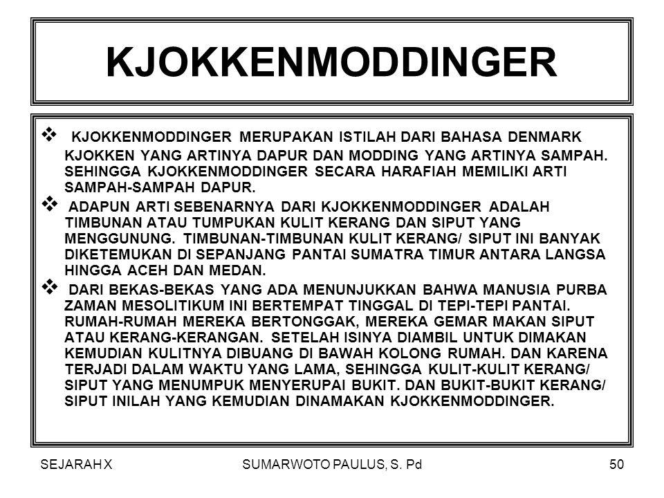 KJOKKENMODDINGER