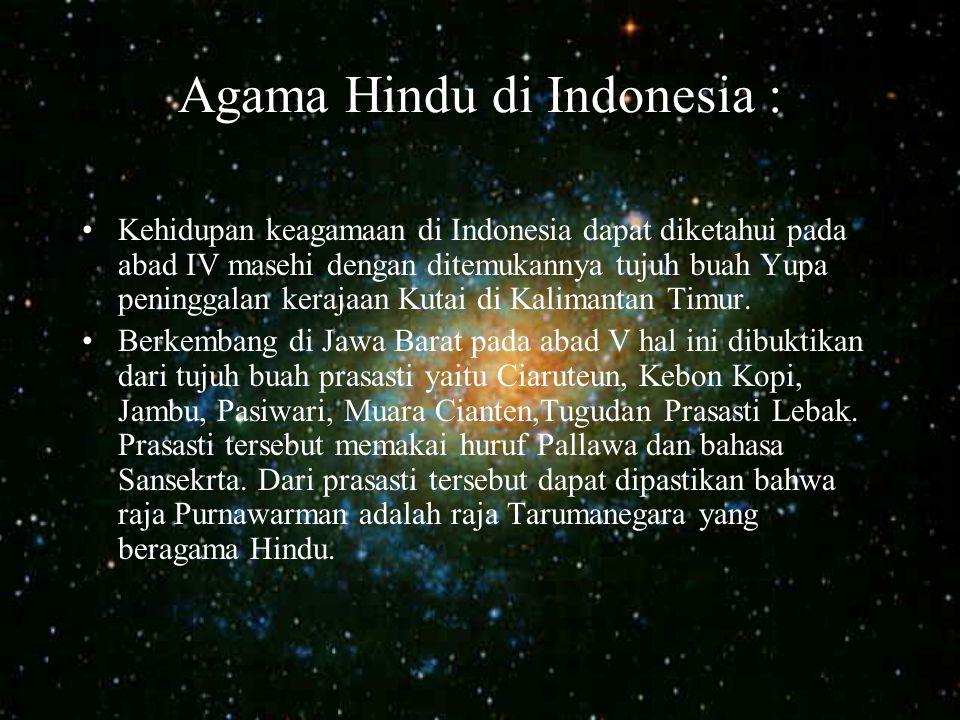 Agama Hindu di Indonesia :