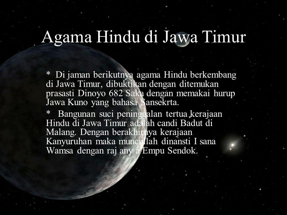 Agama Hindu di Jawa Timur
