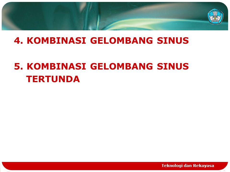 4. KOMBINASI GELOMBANG SINUS 5. KOMBINASI GELOMBANG SINUS TERTUNDA