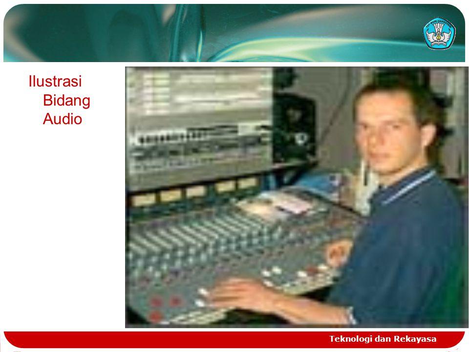 Ilustrasi Bidang Audio
