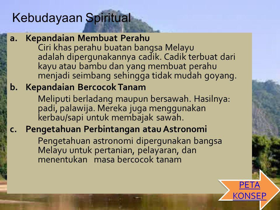 Kebudayaan Spiritual