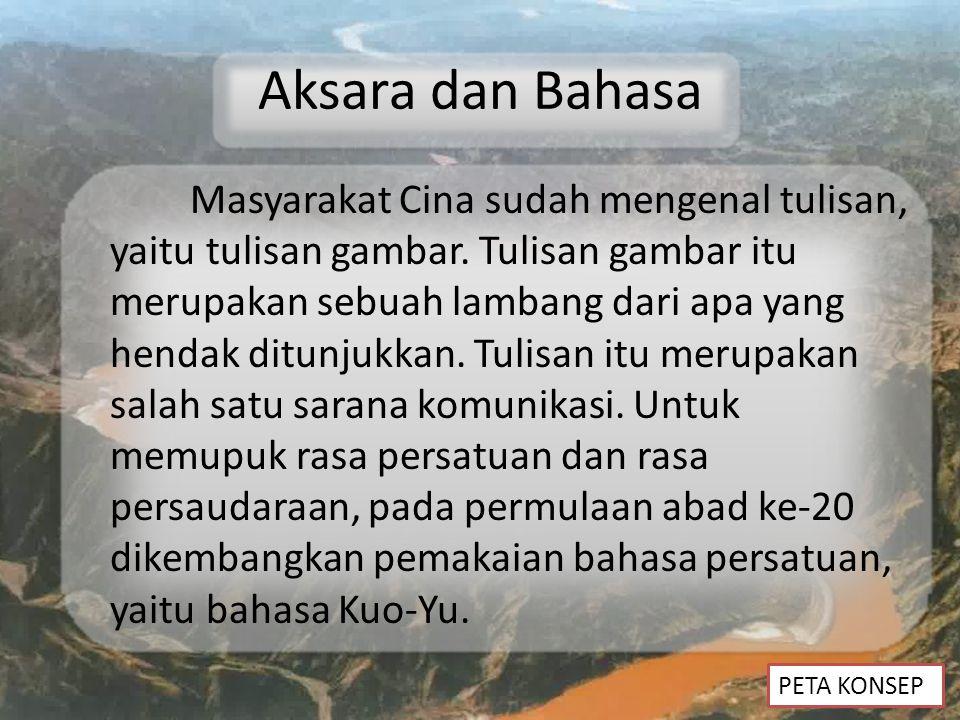 Aksara dan Bahasa