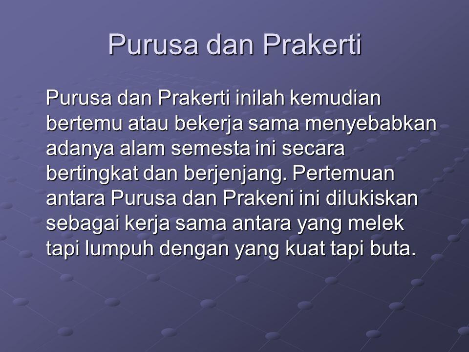 Purusa dan Prakerti.