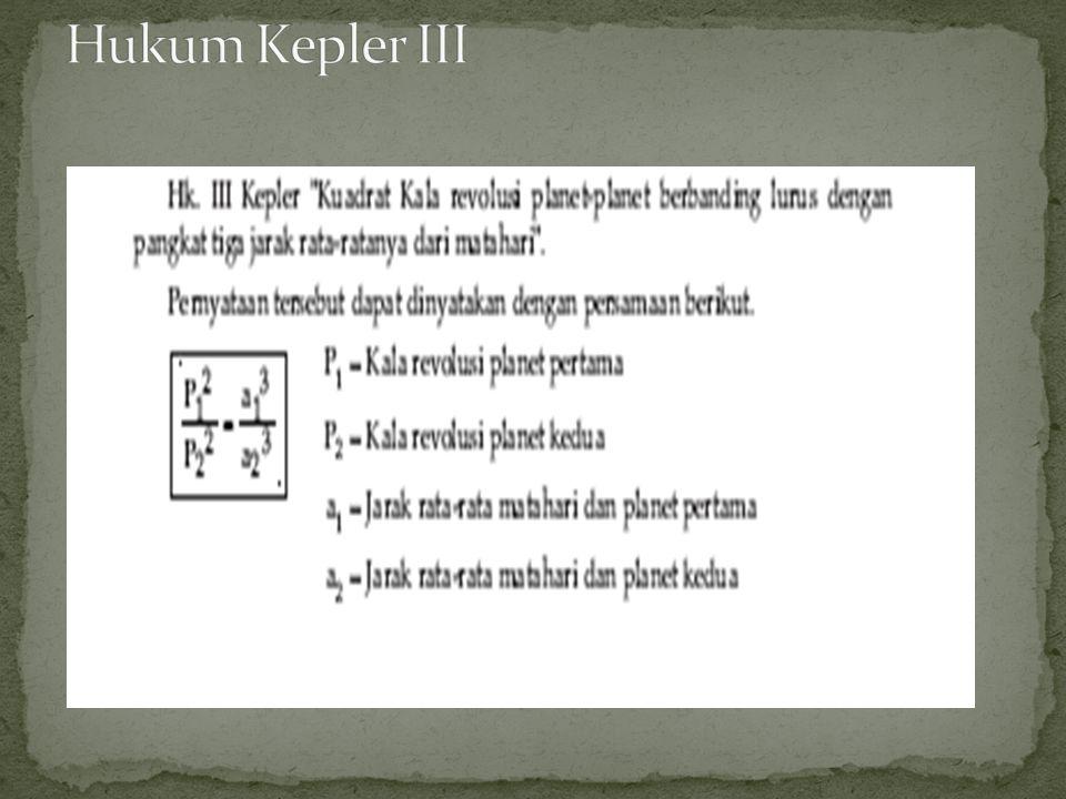 Hukum Kepler III