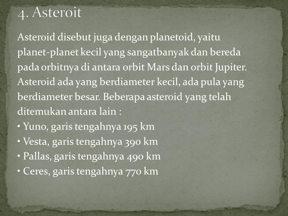 4. Asteroit