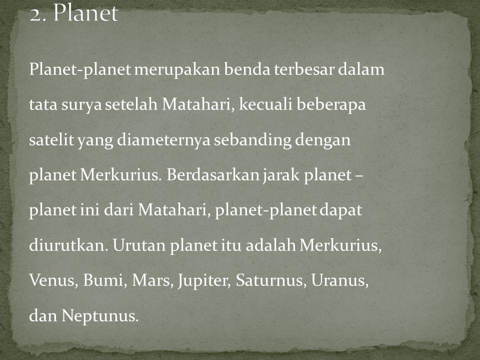 2. Planet