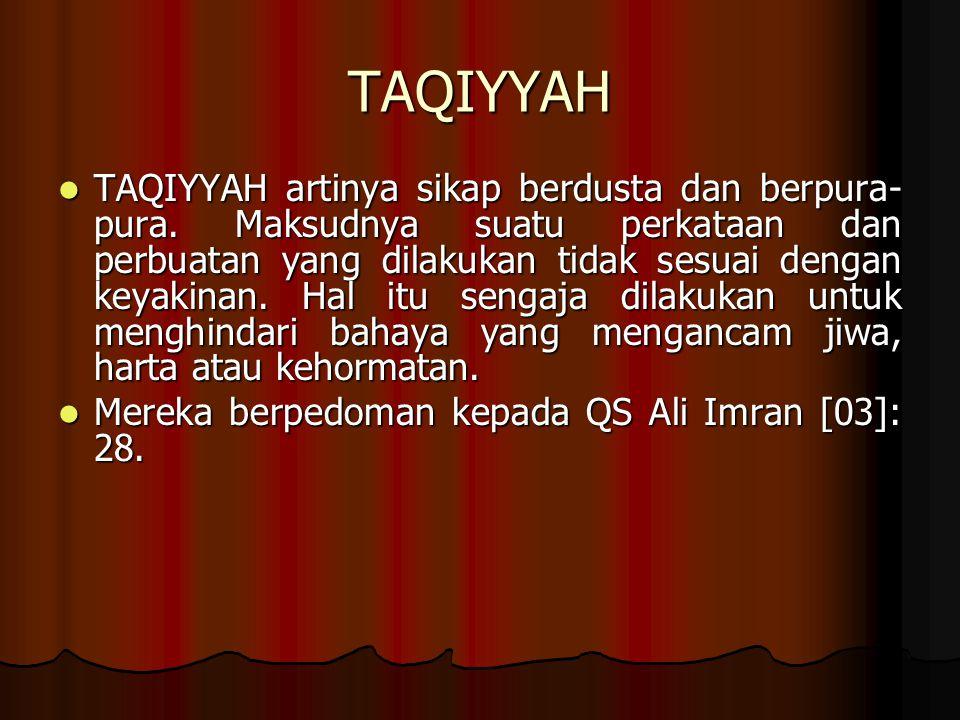 TAQIYYAH