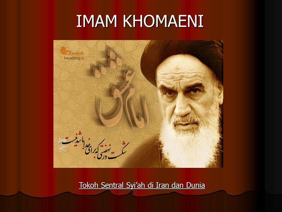 Tokoh Sentral Syi'ah di Iran dan Dunia
