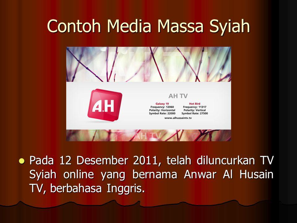 Contoh Media Massa Syiah