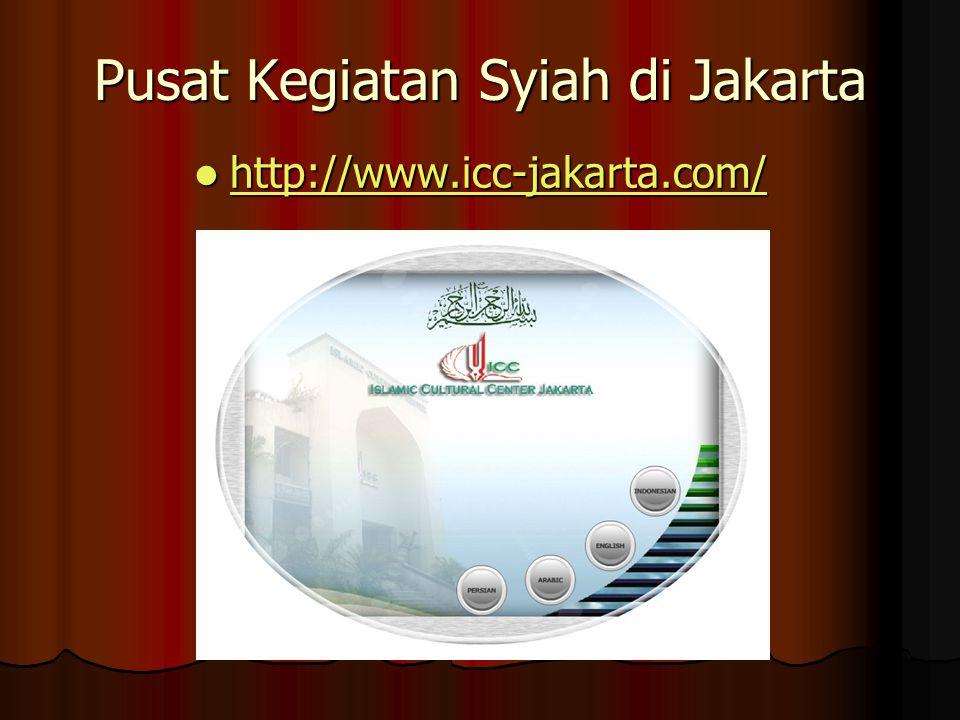 Pusat Kegiatan Syiah di Jakarta