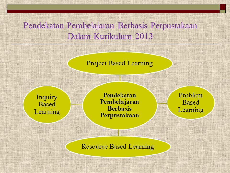 Pendekatan Pembelajaran Berbasis Perpustakaan Dalam Kurikulum 2013