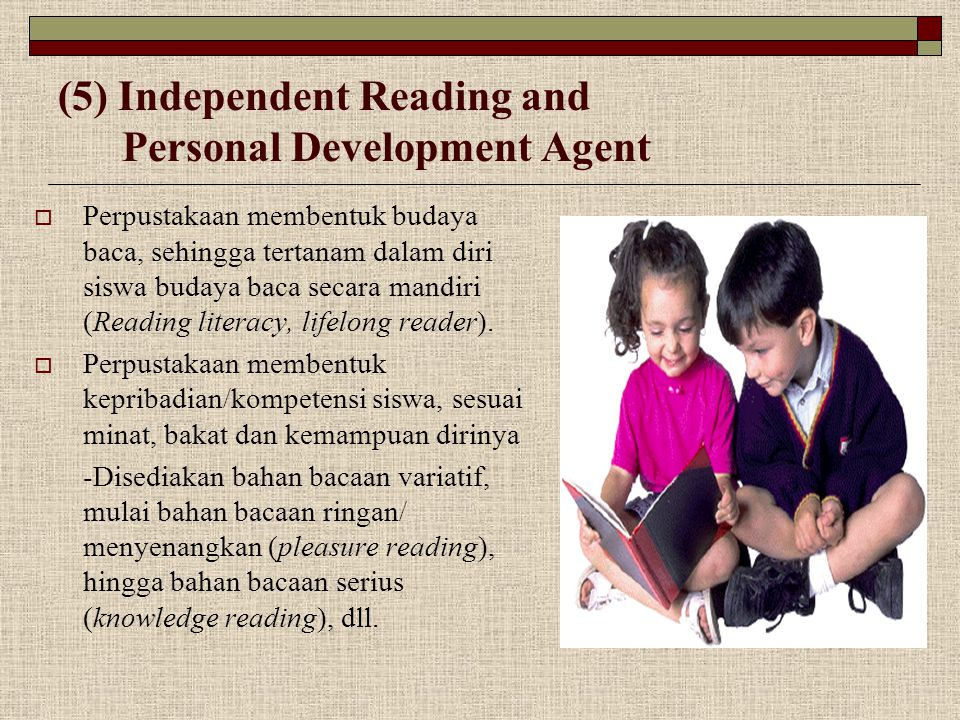(5) Independent Reading and Personal Development Agent