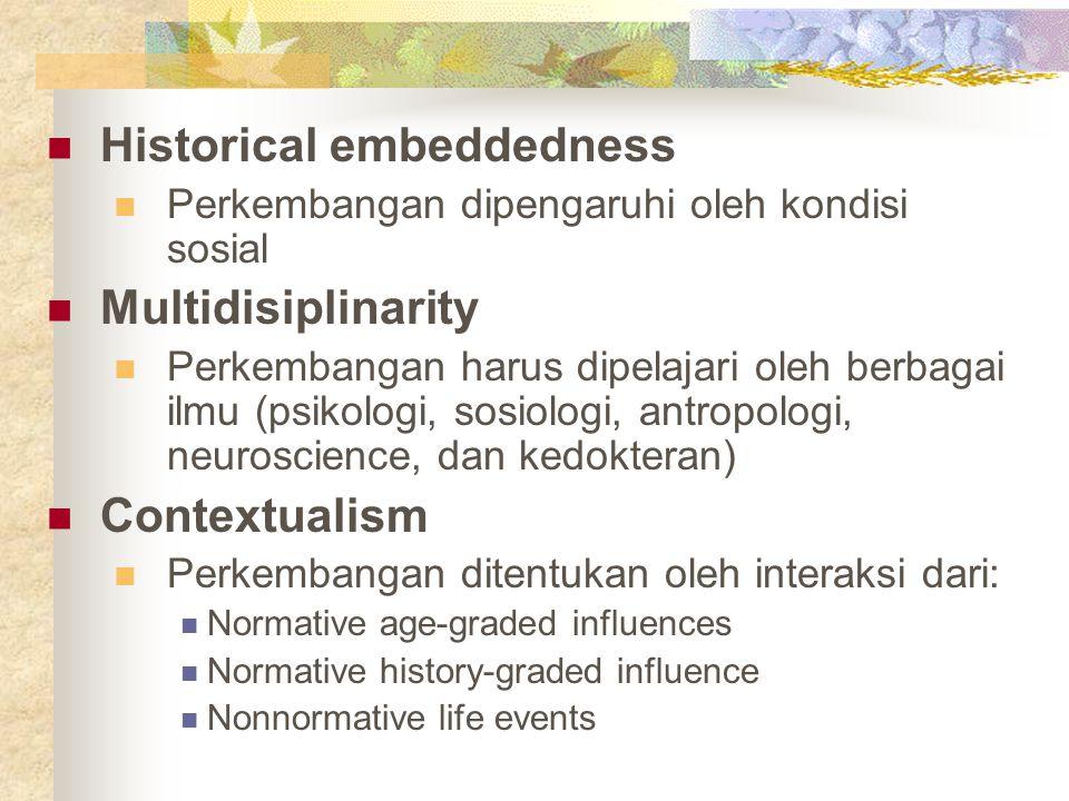 Historical embeddedness