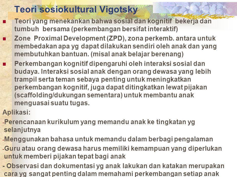 Teori sosiokultural Vigotsky