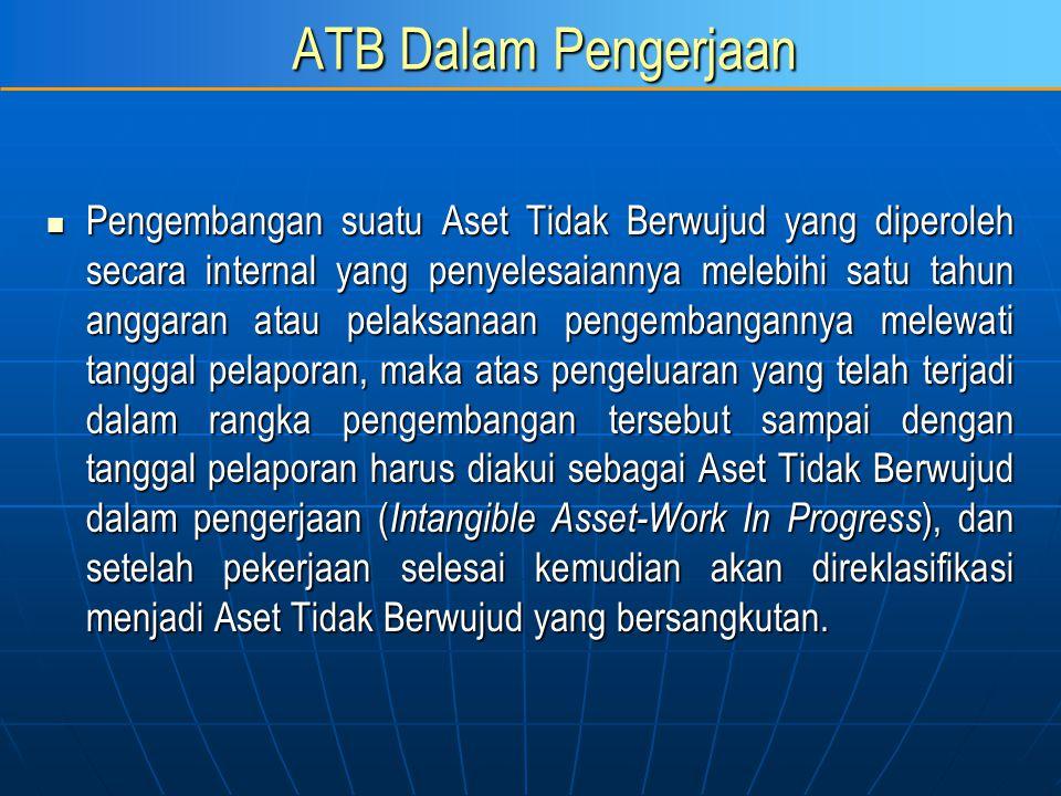 ATB Dalam Pengerjaan