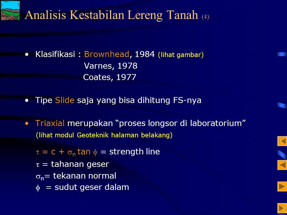 Analisis Kestabilan Lereng Tanah (4)
