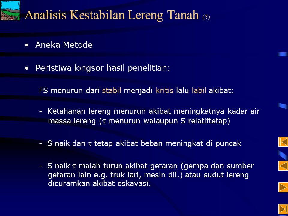 Analisis Kestabilan Lereng Tanah (5)
