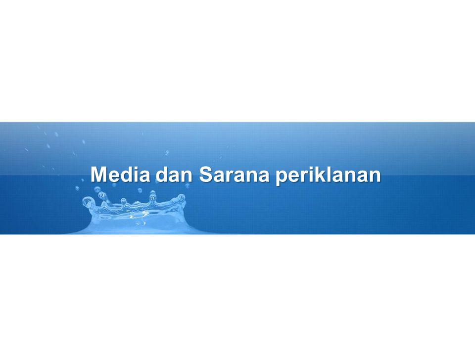 Media dan Sarana periklanan