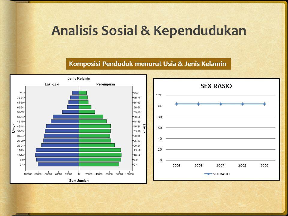Analisis Sosial & Kependudukan