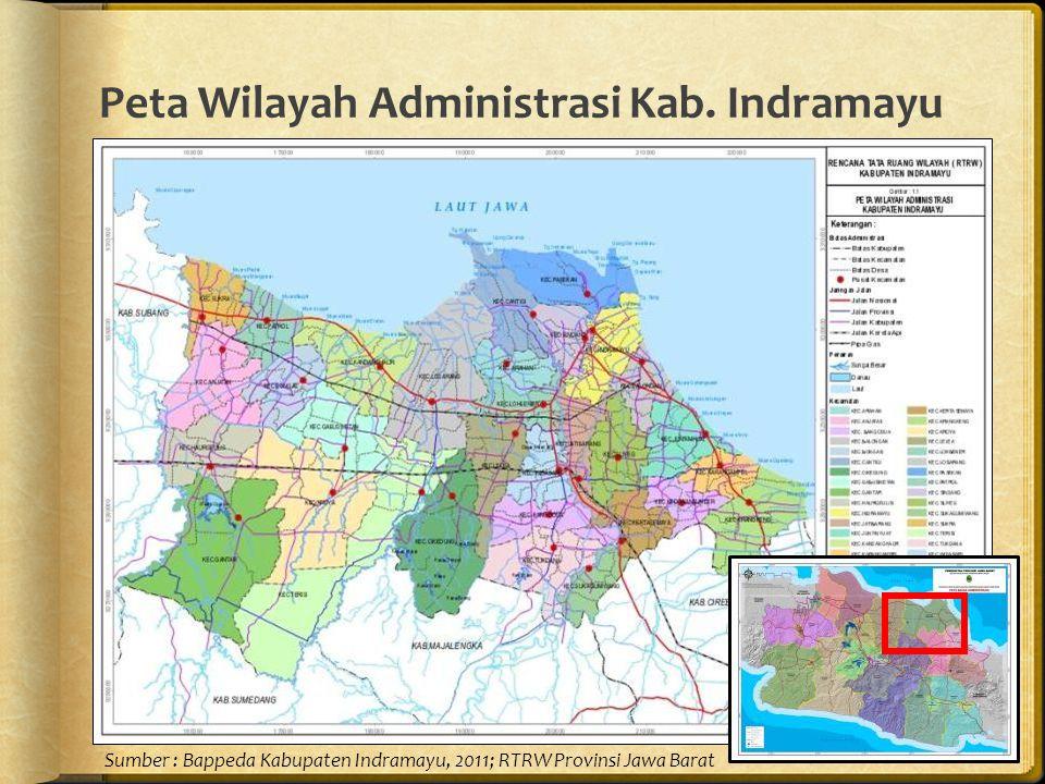 Peta Wilayah Administrasi Kab. Indramayu