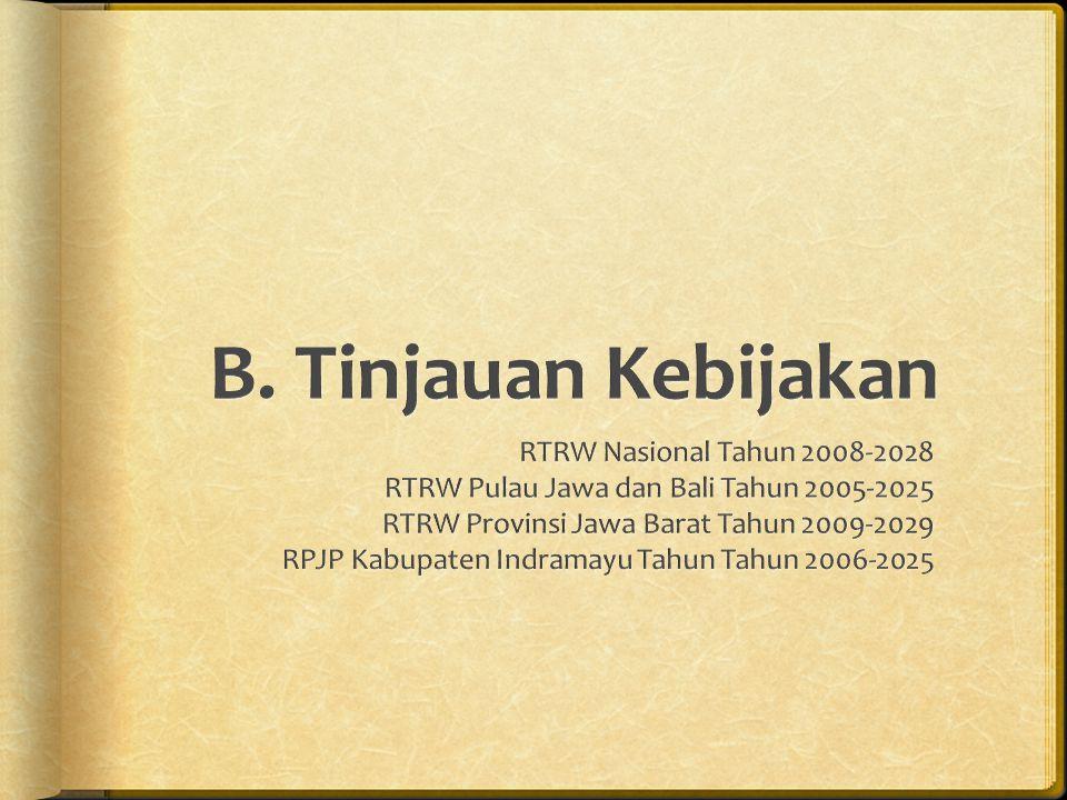 B. Tinjauan Kebijakan RTRW Nasional Tahun 2008-2028