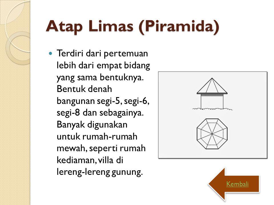 Atap Limas (Piramida)